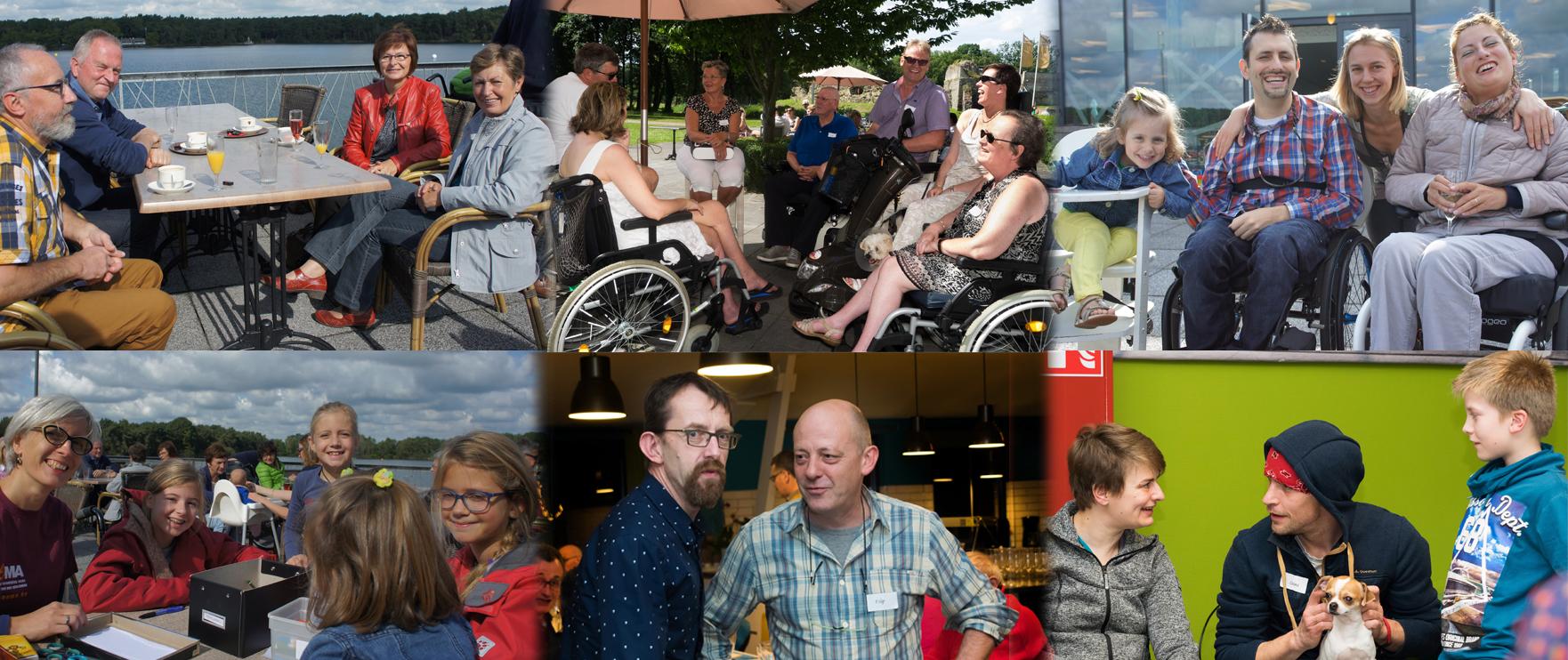 Lotgenotencontact_SpierziektenVlaanderen Project - Lotgenotenbijeenkomsten