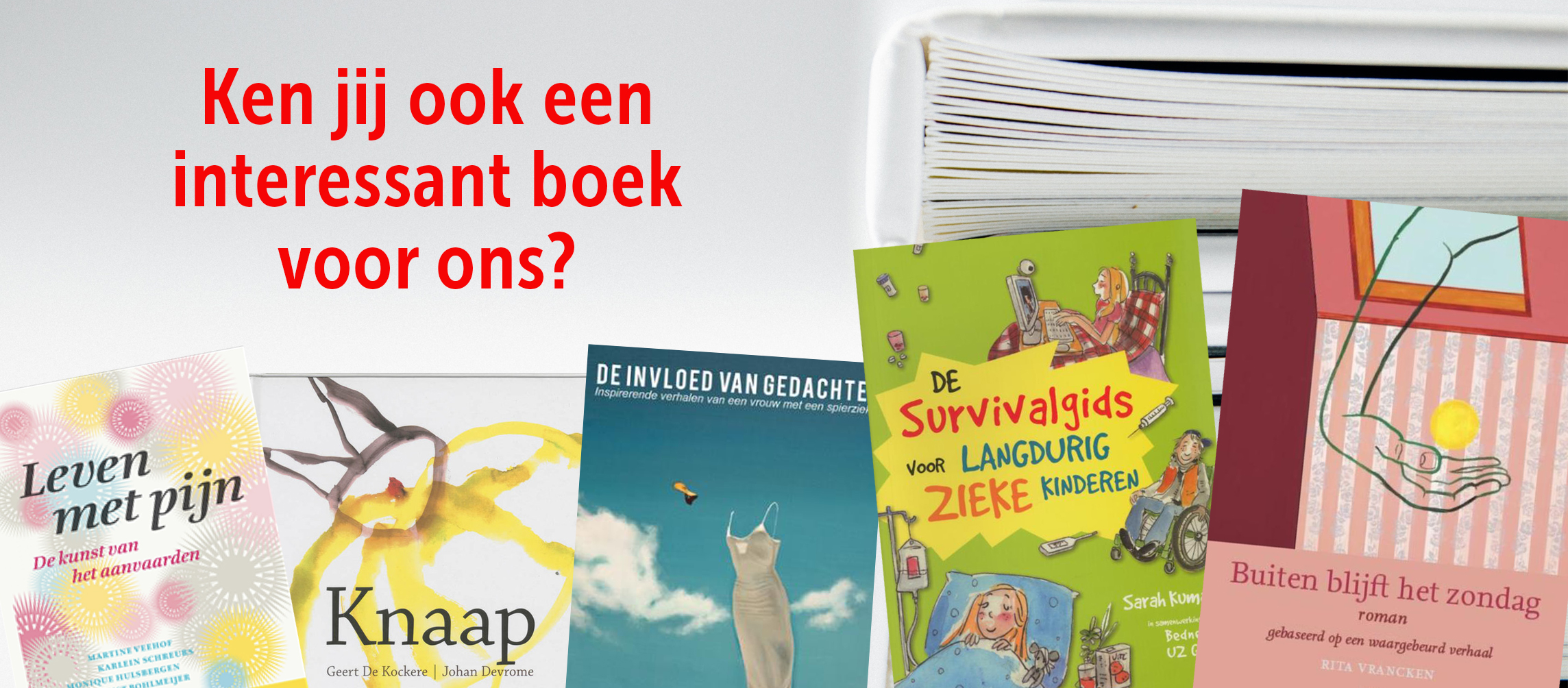 BuitenBlijftHetZondag_SpierziektenVl Boekentips