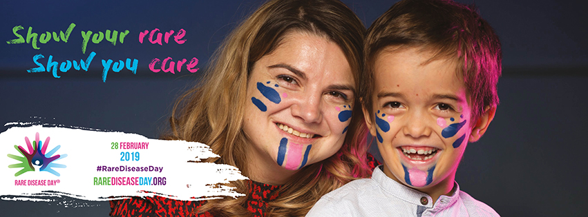 Facebook-banner 28 februari Rare Disease Day 2019