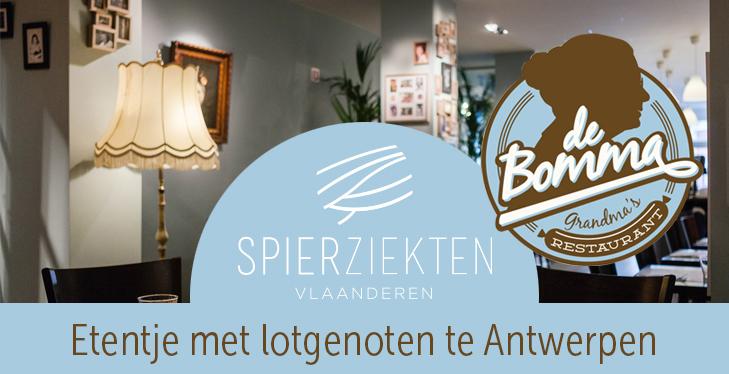 tribe-loading Etentje bij De Bomma, in Antwerpen