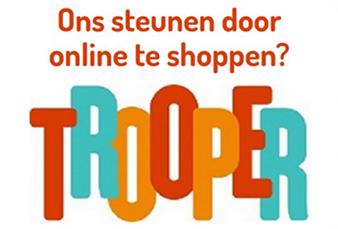 logo-trooper-338 Yes, vanaf nu kan iedereen online shoppen én ons steunen! Huh? Online shoppen en steunen? Hoe kan dat?